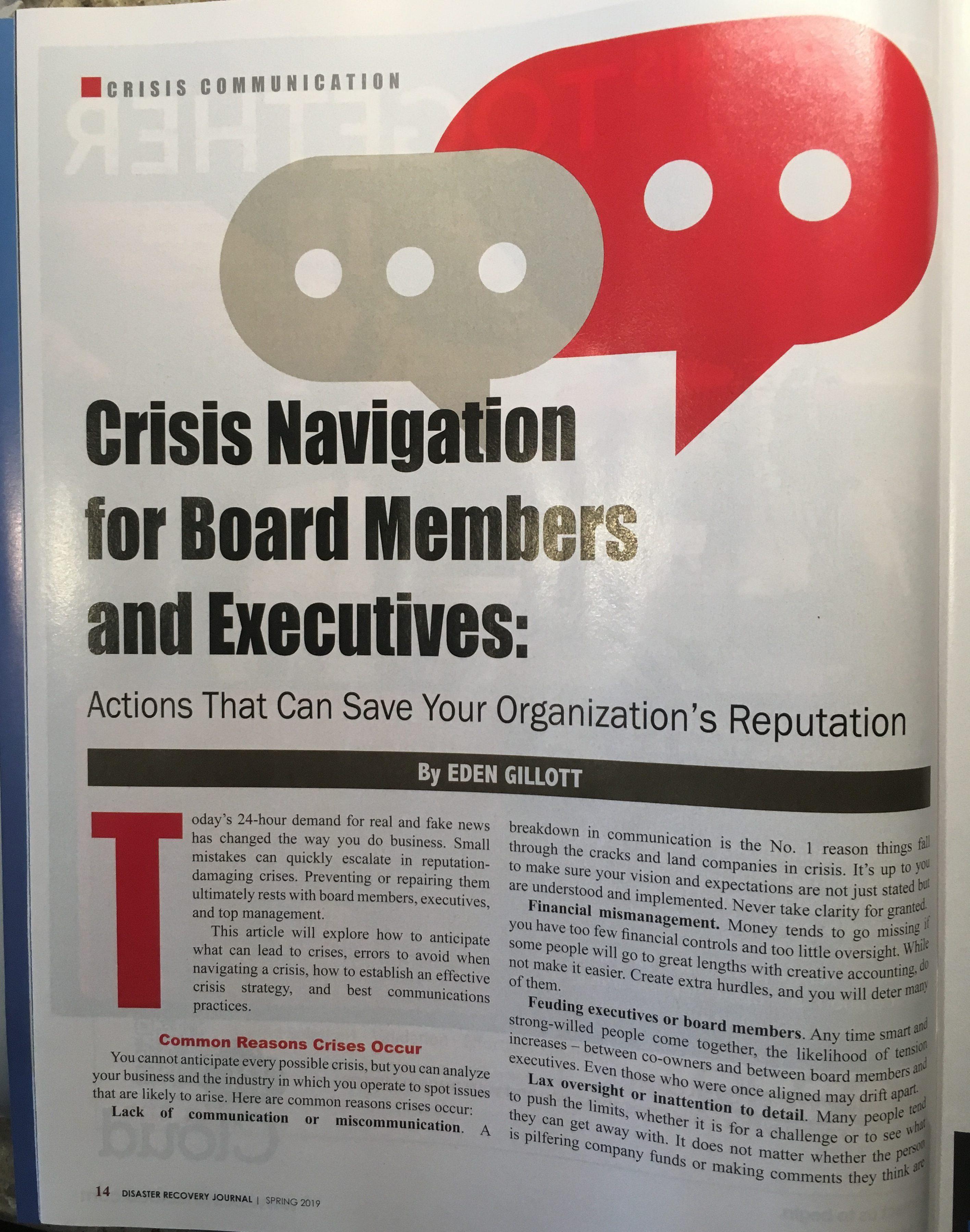 In the News – Gillott Communications